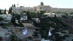 Israelíes plantan su bandera en barrio palestino [VIDEO] - Noticias de jerusalén