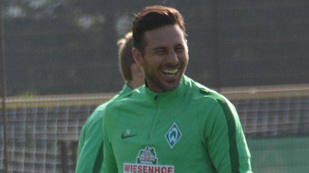 Claudio Pizarro: Werder Bremen vs. Hoffenheim en la Bundesliga