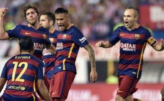 Barcelona: Neymar y el golazo de tiro libre contra el Atlético