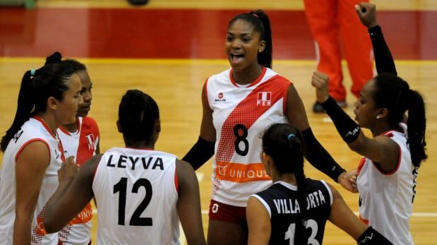 Vóley: Perú venció 3-0 China por el Mundial Sub 20