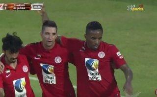 Jefferson Farfán marcó gol con Al Jazira en liga Árabe (VIDEO)