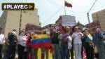 Protestan en Lima por sentencia contra Leopoldo López [VIDEO] - Noticias de avenida perú