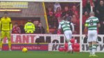 Inusual método de hincha para evitar un gol en Escocia [VIDEO] - Noticias de leigh griffiths