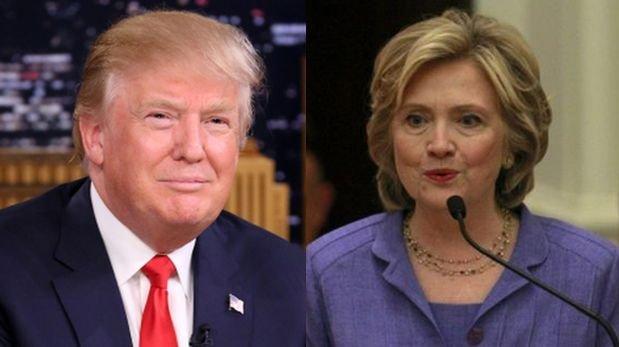 Donald Trump lidera sondeos y Hillary Clinton pierde apoyo