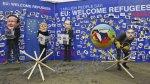 Protestan contra líderes de Europa por crisis de refugiados - Noticias de cara cortada
