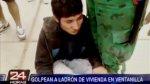 """""""Chapa tu choro"""": golpean a presunto ladrón en Ventanilla - Noticias de chapa tu choro"""