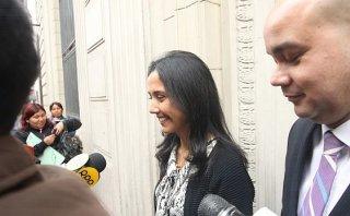 Nadine Heredia declaró en fiscalía por denuncia sobre Antalsis