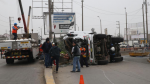 Carretera Central: tránsito bloqueado por más de 15 horas - Noticias de rutas alternas