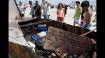 La precaria balsa en la que llegaron 12 cubanos a Miami Beach - Noticias de billetes de 100 dólares