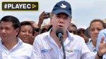 Santos condiciona posible reunión con Maduro [VIDEO] - Noticias de escasez de agua potable