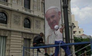 La Habana se engalana para la llegada del Papa [VIDEO]