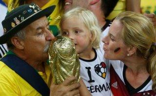 Murió de cáncer el simpático fanático del Mundial Brasil 2014