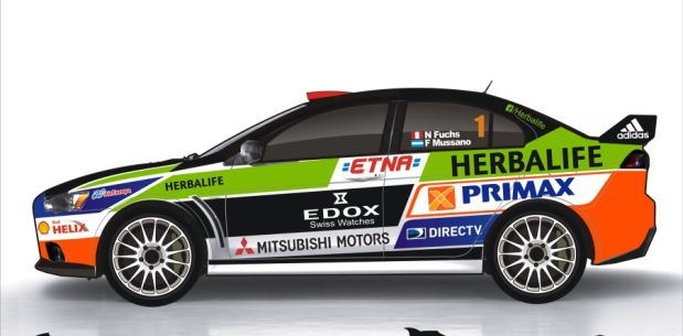 Fuchs competirá en España con un EVO X. (Foto: Facebook)