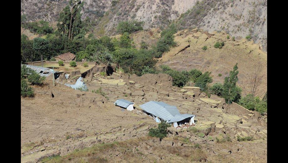 Tarabamba, otra zona de Áncash donde la tierra se abre [FOTOS]