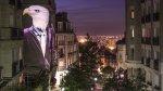"""Animales """"hipster"""" decoran las paredes de las calles de París - Noticias de mapping"""