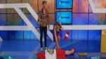 Karen Schwarz increpó a Pavón por gesto con bandera peruana - Noticias de karen schwarz