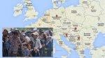 Crisis migratoria: ¿Por qué es más complicada la ruta croata? - Noticias de ley de inmigración
