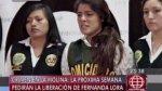Fernanda Lora: por esta razón solicitarán su liberación - Noticias de maria castillo arenas