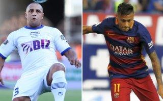 Para Roberto Carlos, Neymar es mejor que Messi y Cristiano