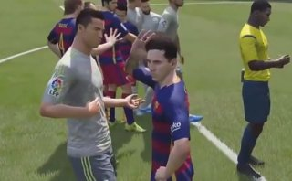 YouTube: Lionel Messi se peleó con Cristiano... en el FIFA 16