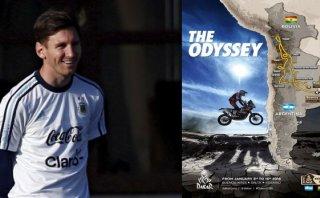 Lionel Messi se comprometió a estar presente en el Dakar 2016