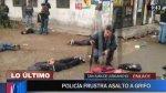 SJL: frustran asalto y capturan a 4 sujetos con armas de guerra - Noticias de general pnp