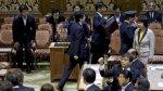La furia se desata en el Parlamento de Tokio - Noticias de comisiones de afp
