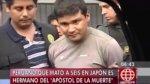 Peruano que mató a 6 japoneses es hermano de asesino en serie - Noticias de penal de huaral