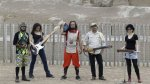 Huacas, burbujas y rock n' roll iniciarán su gira 2015 - Noticias de sandra cabo