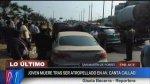 Av. Canta Callao: adolescente murió atropellado en SMP - Noticias de accidente automovilístico