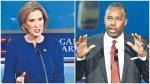 Carly Fiorina y Ben Carson, revelaciones del debate republicano - Noticias de doctor sueño