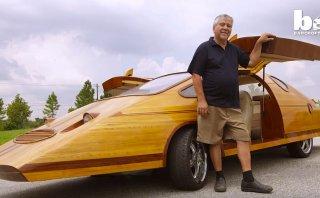 YouTube: El carpintero que fabrica sus autos con madera