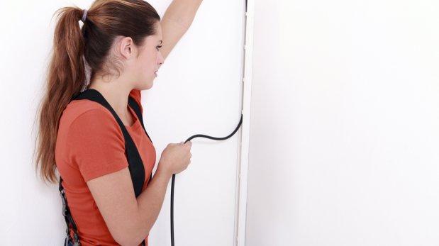 5 formas prácticas de ocultar el cableado en la casa y oficina
