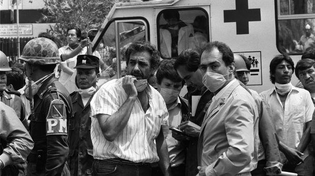 Imagen de los rescatistas luego del terremoto de 1985 sucedido en México.(Foto: AFP)