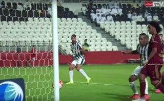 Jefferson Farfán jugó 90' en la victoria agónica de Al Jazira