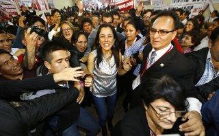 """Nadine Heredia niega que esté """"encima del presidente mandando"""""""