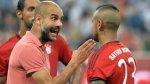Guardiola apoya a chileno Vidal tras críticas de Beckenbauer - Noticias de xabi alonso