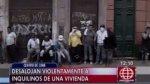 Cercado: enfrentamientos y robos durante desalojo en quinta - Noticias de comisaría de san andrés