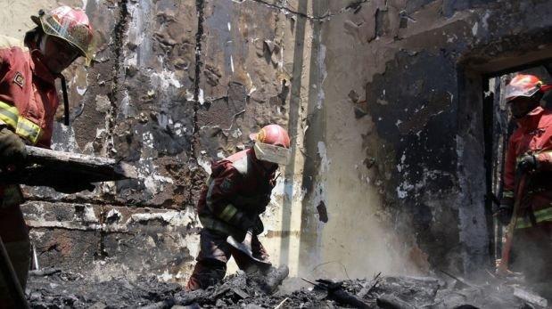 Madre de Dios: incendio deja 41 familias damnificadas