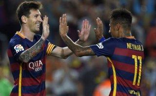 Barcelona goleó 4-1 a Levante con doblete de Messi en Liga BBVA