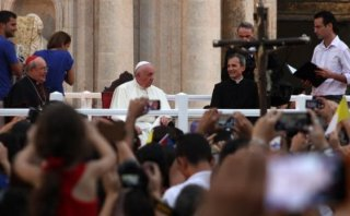 """El Papa en Cuba: """"Un país se destruye por la enemistad social"""""""
