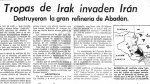 La guerra de los ocho años entre Irán e Iraq - Noticias de estrecho de ormuz