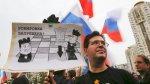 """""""Rusia sin Putin"""": Miles marchan por la alternancia en el poder - Noticias de ejercicios militares"""