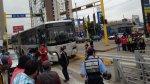 Así quedó un bus del Metropolitano tras chocar con un taxi - Noticias de accidente de bus