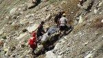 Ayacucho: tres fallecidos dejó caída de camioneta a un abismo - Noticias de vuelco