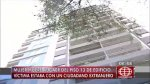 Surquillo: australiano acusado de arrojar a mujer del piso 13 - Noticias de divincri san borja