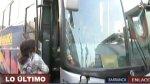 Barranca: delincuentes armados asaltaron bus interprovincial - Noticias de supe