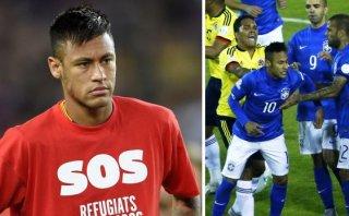 """Neymar recordó como una """"lección"""" su expulsión en Copa América"""