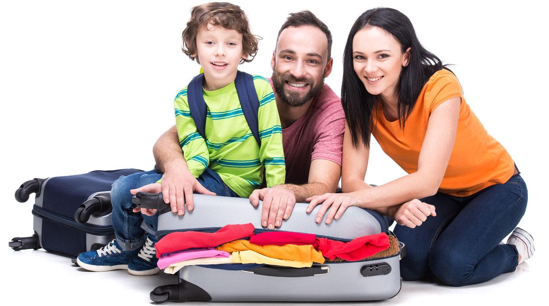 [Foto] Trucos para que tu maleta de viaje pese menos