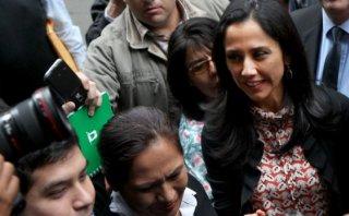 Nadine Heredia declara en fiscalía sobre sus supuestas agendas